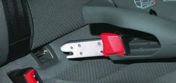 Isofix sistema anclaje seguridad