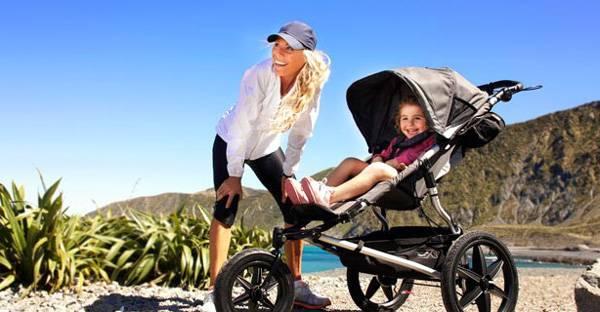 silla de bebe deportiva