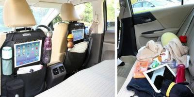 Organizador de accesorios de coche para bebé