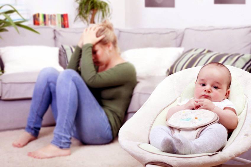depresión post parto que es y como tratarla
