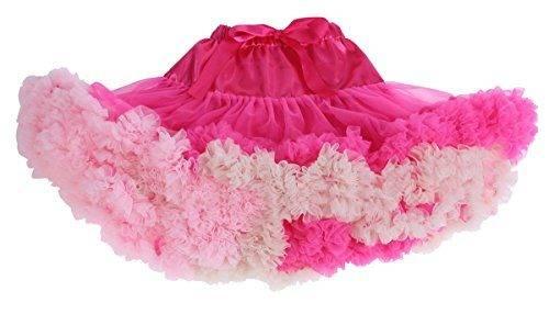 9bad963e5 Happy Cherry Niña Falda de Cintura Elástica Tutú Corta tul Fiesta Boda  Cumpleaños - Rosa 1-5 rosado gris azul violeta caqui púrpura rojo ...