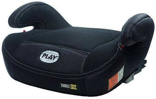 Play Three Fix Silla De Coche Grupo 2 3 Isofix Negro