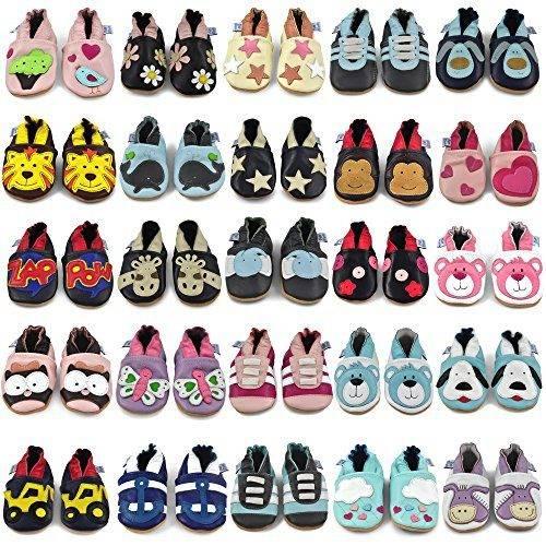 455bb26e Zapatos de Bebé – Zapatillas de Cuero Niño Niña – Patucos de Pi