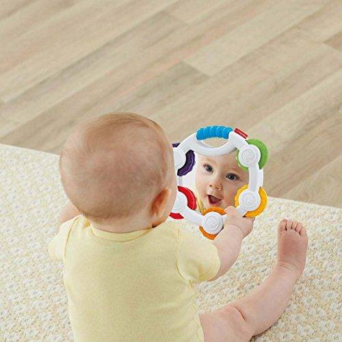 Mattel BLT37 Fisher-Price Pandereta sorpresas juguete musical para beb/é 3 meses