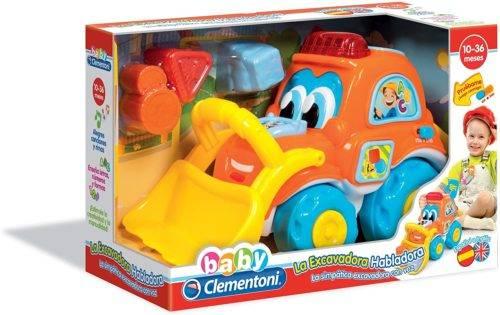 Clementoni - La Excavadora habladora (55130.9)