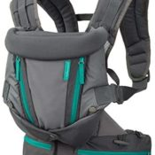 INFANTINO Carry On Multipocket - Carrier, Turquoise Grey
